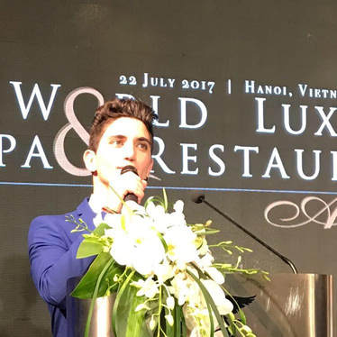 Speaking at the World Luxury SPA awards ceremony in Vietnam